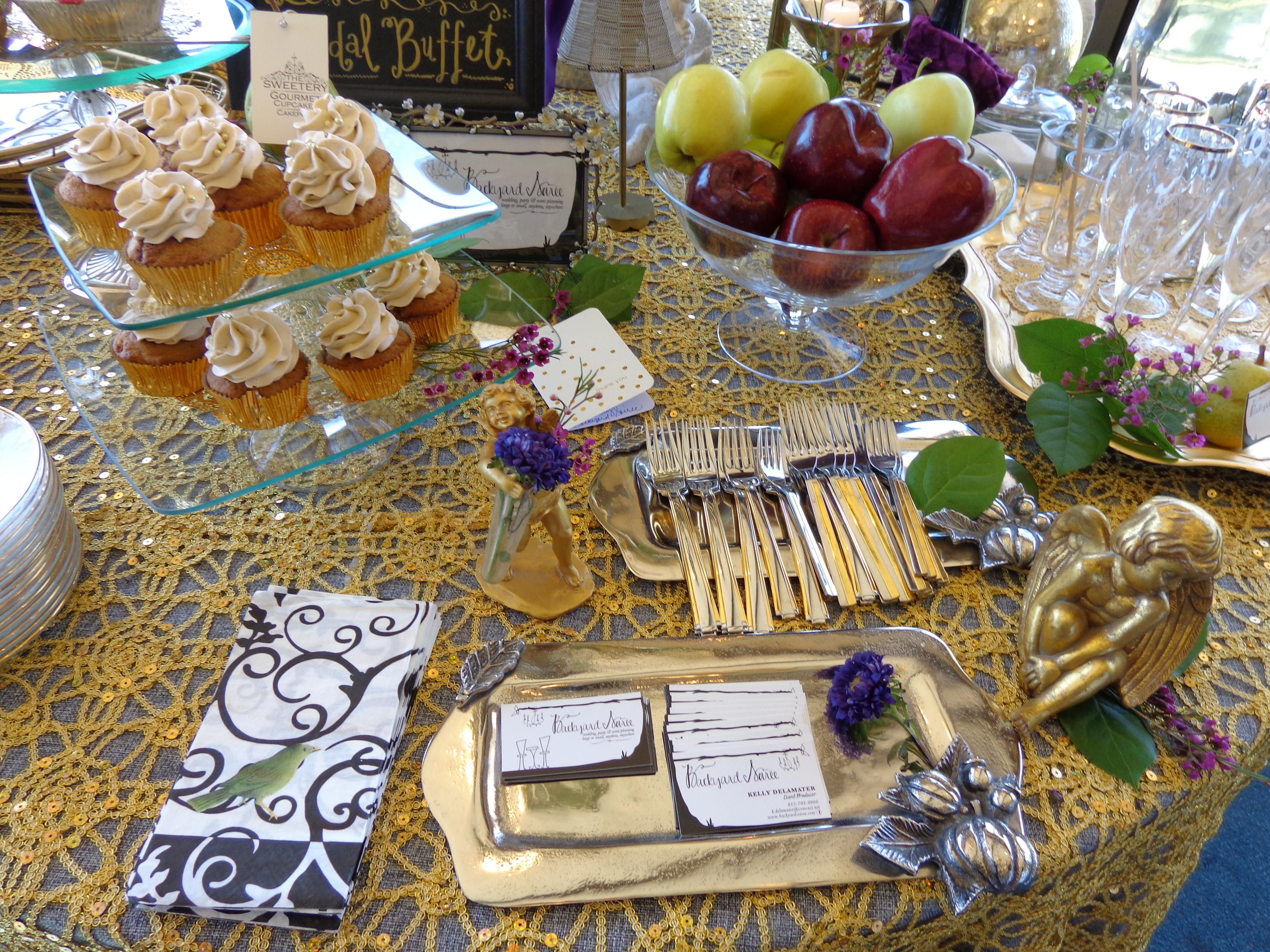 Bridal Brunch Buffet by Backyard Soiree Weddings & Events ...