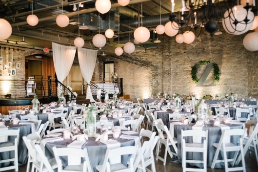 """Prairie St Brewhouse wedding reception"""